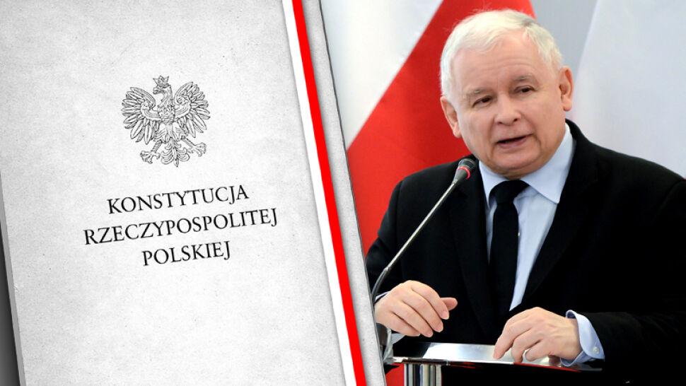 Jarosław Kaczyński: obecna polska konstytucja jest postkomunistyczna