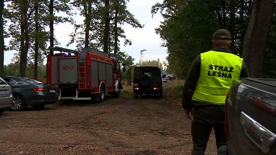 Eksplozja koło Kuźni Raciborskiej. Na miejscu wciąż pracują służby