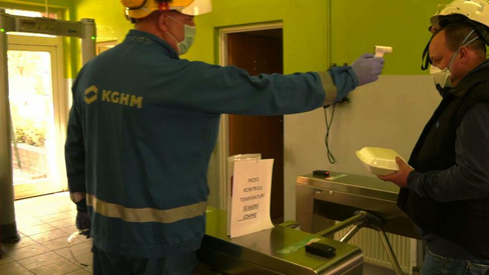 Jak kopalnie na Dolnym Śląsku walczą z koronawirusem?