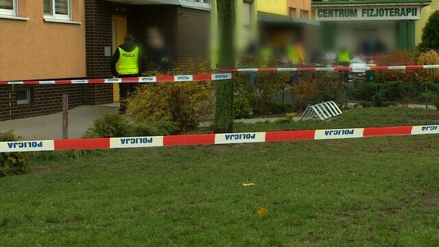 Śmierć 21-latka w Koninie. W miejscu tragedii przeprowadzono wizję lokalną