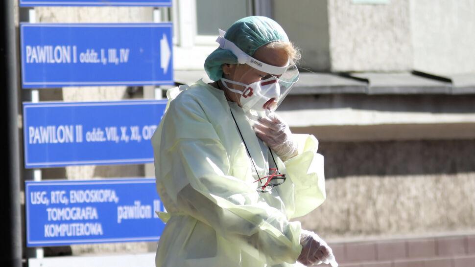 Ponad 1100 przypadków SARS-CoV-2 w Polsce
