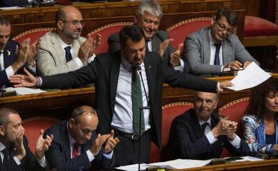 Rozpad koalicji we Włoszech. Dymisja premiera, jego miejsce chce zająć Salvini