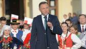 """Andrzej Duda o """"wyimaginowanej wspólnocie"""". Fala pytań po słowach prezydenta"""