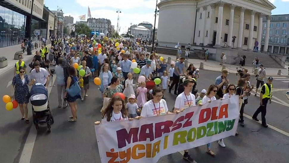 """Marsze dla Życia i Rodziny. """"Rodzina jest fundamentem naszej cywilizacji"""""""