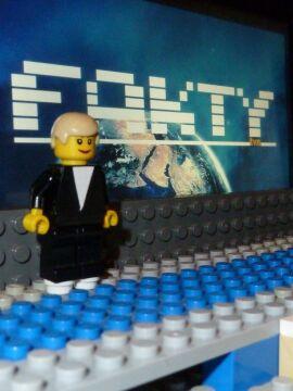 Studio Faktów z klocków Lego