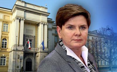 10.02.2017 | Kolizja rządowej kolumny, w której jechała premier Szydło