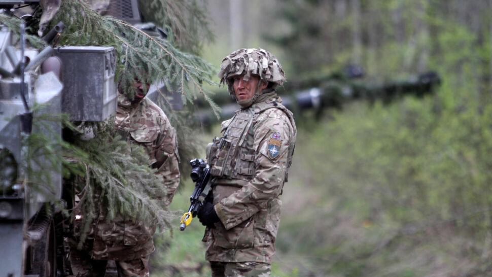 NATO zorganizowało ćwiczenia wojskowe tuż przy granicy z Rosją