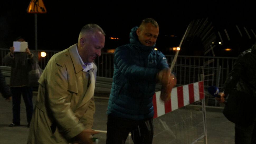 Most miała otworzyć Beata Szydło. Prezydent miasta zrobił to wcześniej