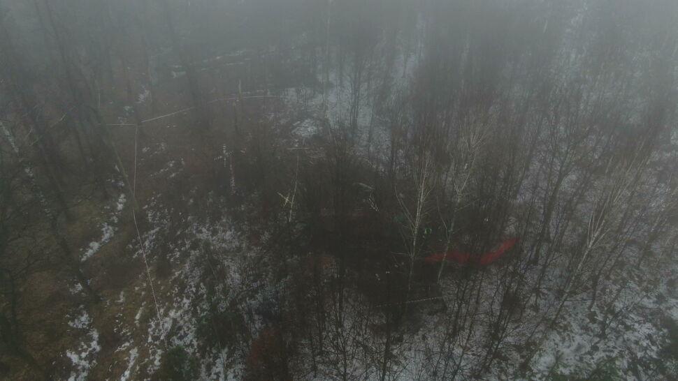 Biznesmen i jego pilot zginęli w katastrofie helikoptera pod Pszczyną