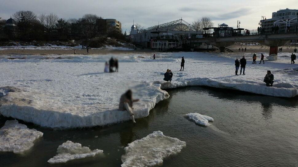 """""""Wchodzenie na lód w tej chwili to jest skrajna nieodpowiedzialność"""""""