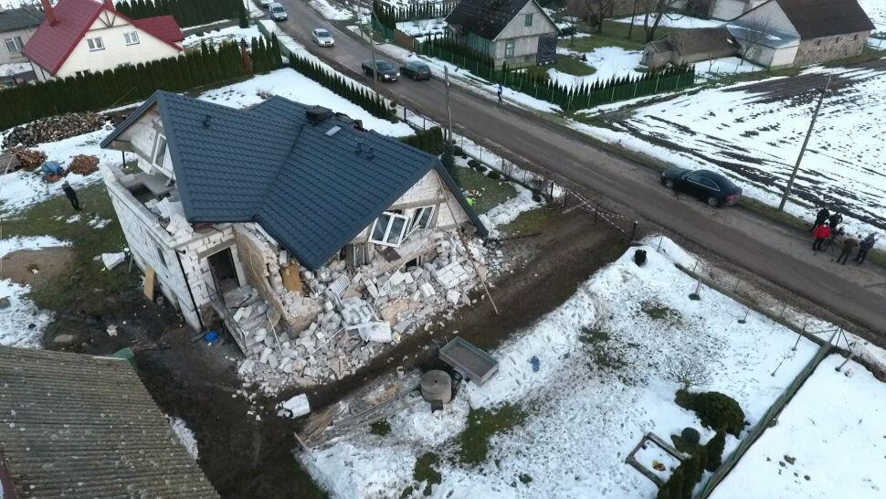 Wybuch gazu zniszczył dom 5-osobowej rodzinie. Sąsiedzi organizują zbiórkę