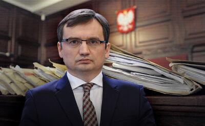 10.11.2017 | Masowa wymiana prezesów sądów. Zbigniew Ziobro odwołał ich faksem
