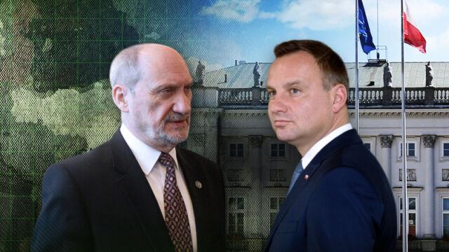 Antoni Macierewicz wycofuje wnioski o awanse generalskie