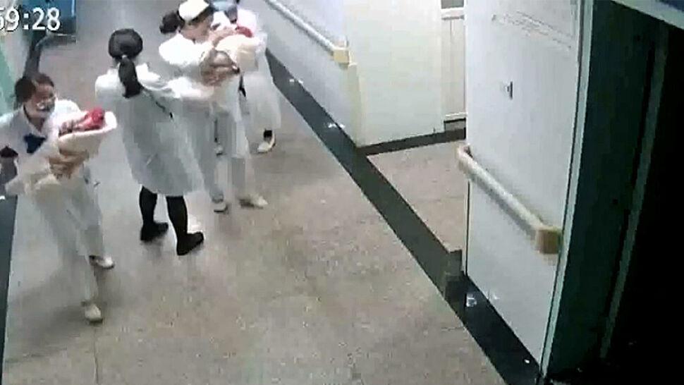 """""""Dostałam na ręce dziecko. Zabrałam koce, by je otulić"""". Pielęgniarki ratowały noworodki podczas trzęsienia ziemi"""
