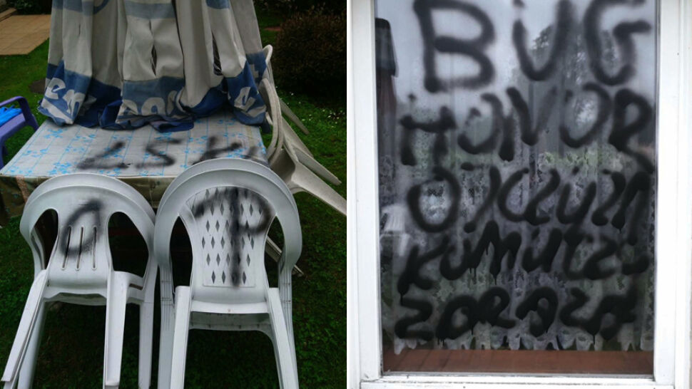 """""""Bug, honor, ojczyzna"""". Reakcja wandali na plakat z Trzaskowskim"""