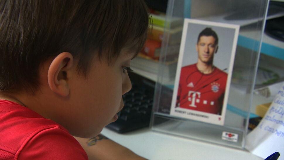 """Lewandowski odpowiedział na list 9-letniego Kuby. """"Myślałem, że to sen"""""""