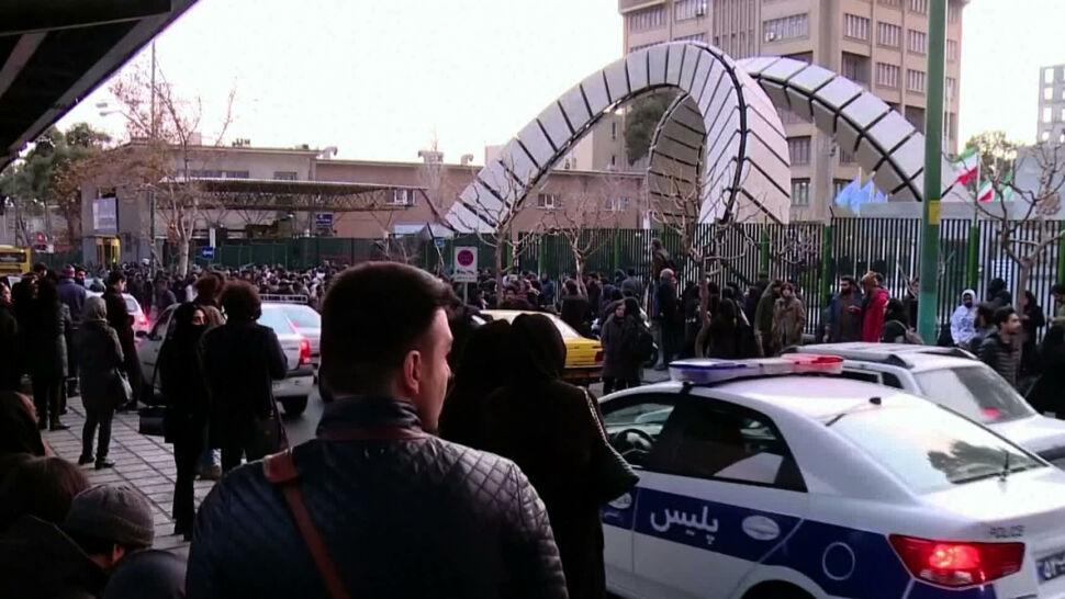 Demonstracje w Teheranie. Manifestanci są oburzeni działaniami władz