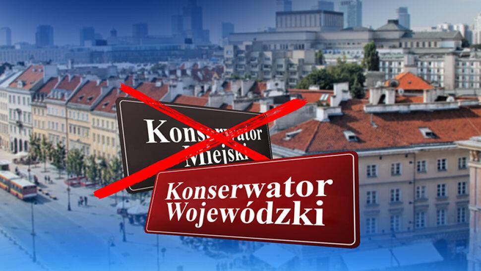 Wojewoda rozwiązał porozumienie z Warszawą. Zapewnia, że nie chodzi o pomniki