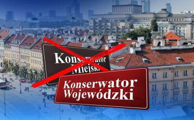 02.08.2017 | Wojewoda rozwiązał porozumienie z Warszawą. Zapewnia, że nie chodzi o pomniki