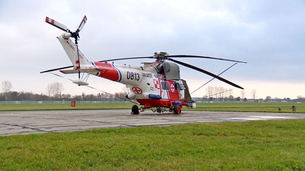 Śmigłowce ratunkowe służące nad Bałtykiem są w opłakanym stanie. Remont potrzebny od zaraz