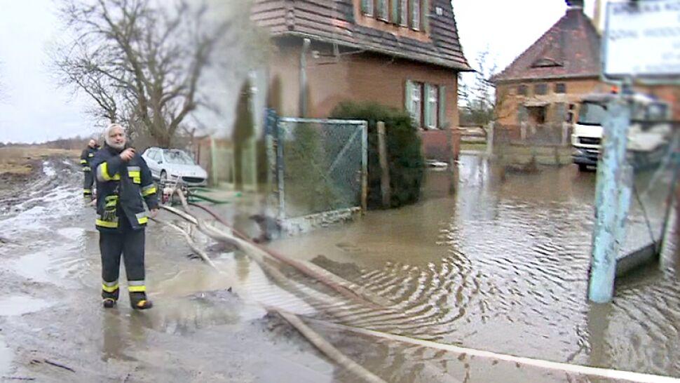 Pogodowy stan kryzysowy. Na Śląsku alarm powodziowy, na Pomorzu wichury