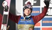 Dawid Kubacki na podium w Innsbrucku. Polak liderem Turnieju Czterech Skoczni