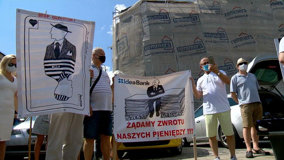 Poszkodowani w aferze GetBack wracają przed warszawską prokuraturę. Chcą upomnieć się o swoje