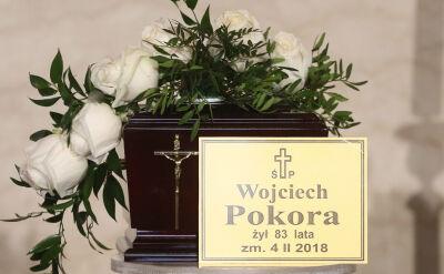 """Ostatnia droga Wojciecha Pokory. """"Fenomenalny aktor i wspaniały kolega"""""""