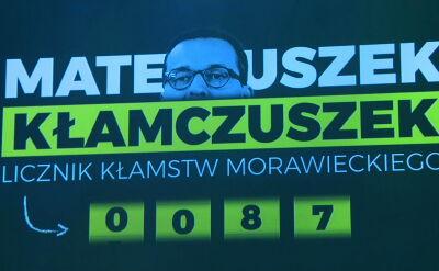 """""""Startuje licznik kłamstw Morawieckiego"""". PSL uderza w premiera"""