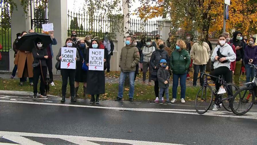 Protesty po wyroku Trybunału Konstytucyjnego