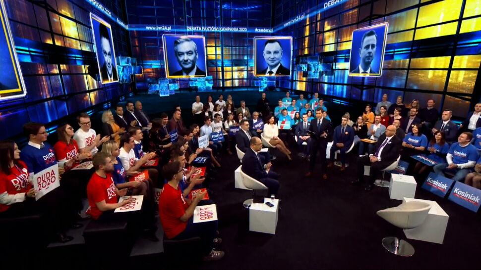 """Nowy program w TVN24. """"Debata Faktów: Kampania 2020"""""""