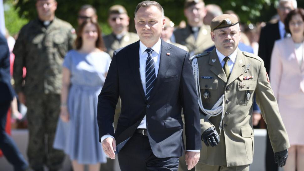 """Andrzej Duda chce zmian w konstytucji. """"Bardzo duża nerwowość"""""""