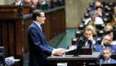 """Zmiana konstytucji i """"normalność"""". Mateusz Morawiecki przedstawił plan rządu"""