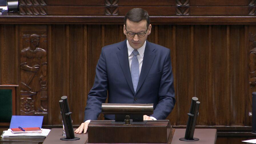Expose premiera i wątpliwości opozycji