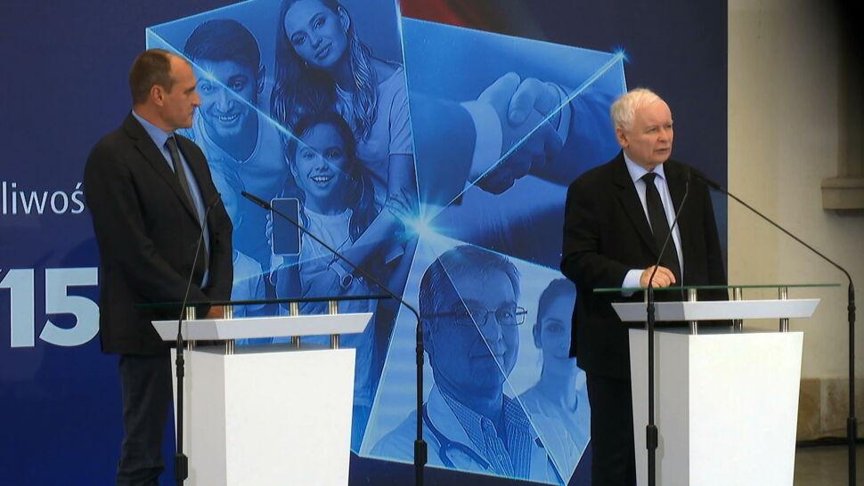 """Kaczyński i Kukiz ogłosili szczegóły porozumienia. """"Liczę na owocną współpracę"""""""