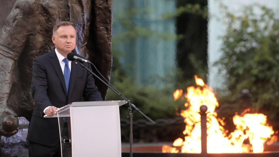 Rocznica Powstania Warszawskiego. Apel Poległych z udziałem prezydentów Polski i Warszawy
