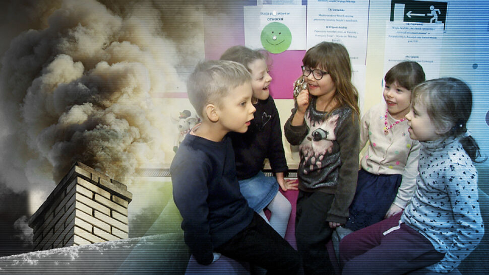 """Przedszkolaki kontra smog. """"Jest czarny i brzydko pachnie"""""""