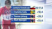 13.02.2014   Justyna Kowalczyk ma olimpijskie złoto, wygrała bieg na 10 kilometrów