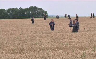 20.07.2014 | Ukraina: chaos na miejscu katastrofy zestrzelonego samolotu
