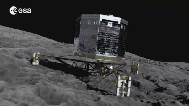 12.11.2014   Misja Rosetta: ziemski lądownik ląduje na komecie