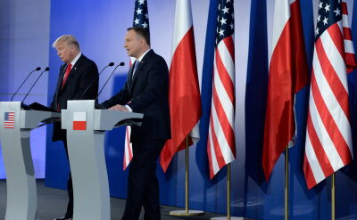 """I have a feeling that the United States is serious about Poland's security"""