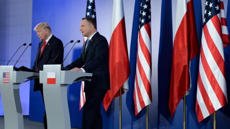 Trump o obecności wojsk w Polsce: nie omawialiśmy gwarancji