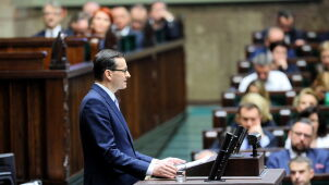 Prime Minister Morawiecki laid out plans for his new cabinet