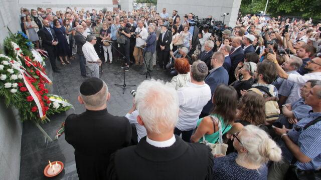 """""""Od śmierci do życia"""". Przeszedł Marsz Pamięci ofiar likwidacji getta"""