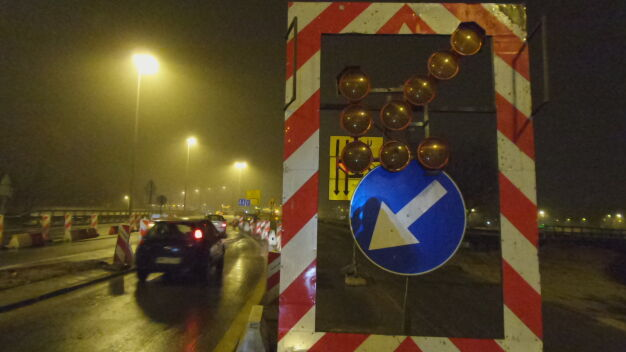 Zamknęli wiadukt Słowackiego na dziewięć miesięcy