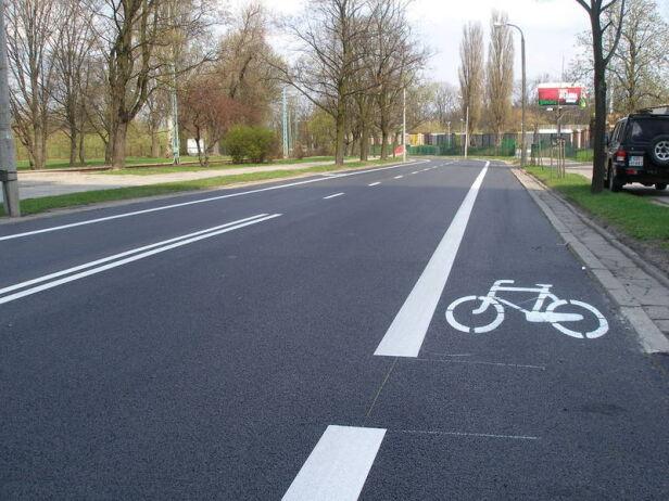 Powstaną pasy rowerowe na jezdniach? zielone mazowsze