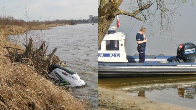 Wędkarz dostrzegł ciało w Wiśle. Policja: to zaginiony skuterzysta