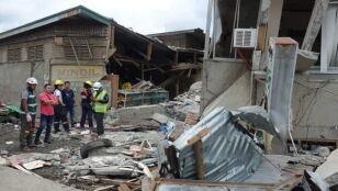 Trzęsienie ziemi  na Filipinach