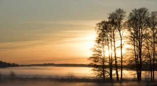 Tomorrow's weather forecast: fog at night, lots of sunshine during the day