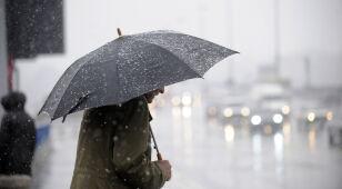 Pogoda na dziś: deszcz, deszcz ze śniegiem i śnieg. Do 7 stopni